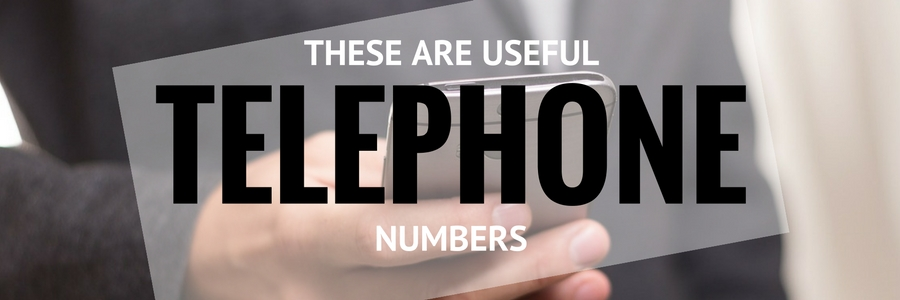 Useful Telephone Numbers
