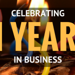 Celebrating 11 Years in Business