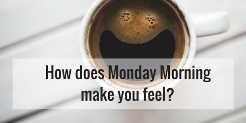 Monday Morning Motivation - How Does Monday morning make you feel?