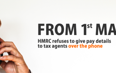 HMRC refuses to give pay details to tax agents from 1st May 2017