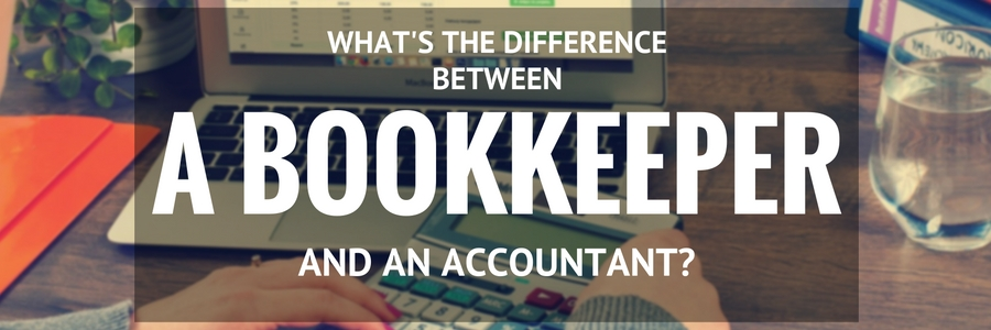 What is the difference between a bookkeeper and an accountant?