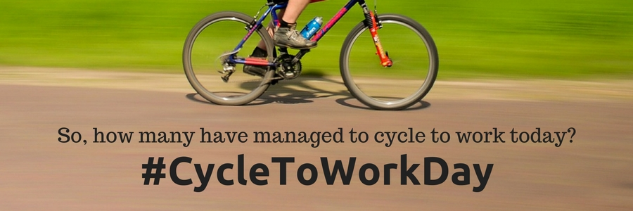 #CycleToWorkDay - Cycle To Work Day 2016