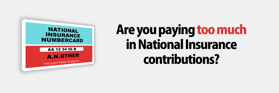 Paying Too Much In National Insurance Contributions?